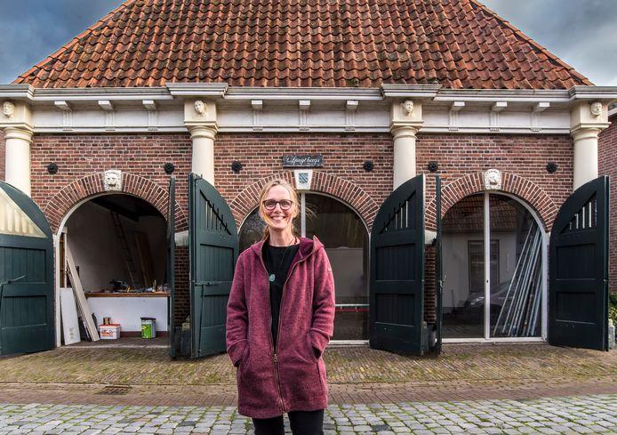 Karin Bosch heeft Spuythuis aan de Korte Wal 11 gekocht van de gemeente Berkelland