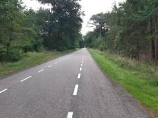 Met 131 over de Luttenbergerweg in Haarle: rijbewijs kwijt