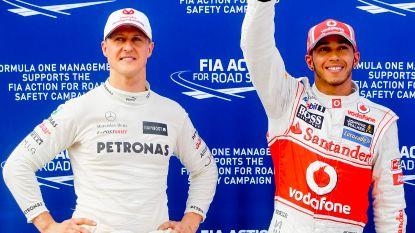 """Rosberg toetst gewezen F1-partners af: """"Schrik toen ik hoorde dat Schumacher m'n ploegmaat werd. Hamilton was tenminste geen alien"""""""