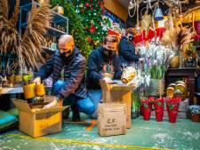 Jeroen toverde zijn evenementenbureau om tot kersthal en die moet nu ook dicht: 'Ik kan wel janken'