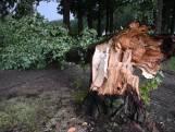 Onweer trekt over Brabant, schade in omgeving van Oirschot, De Beerzen en Oisterwijk