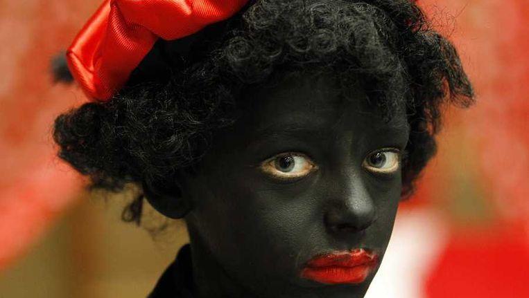 Een Zwarte Piet Beeld anp