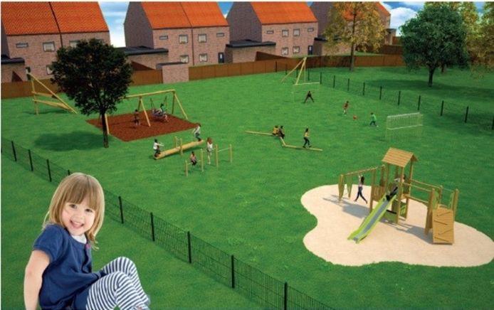 Kinderen mochten zelf beslissen over hoe hun speeltuin er gaat uitzien