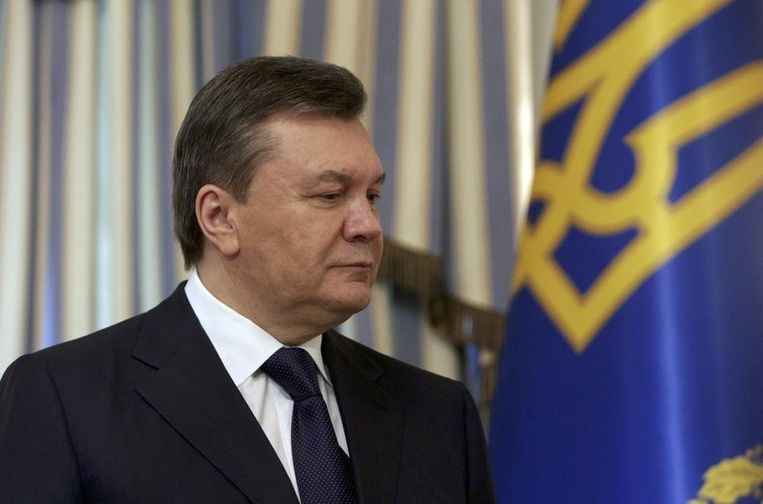 Viktor Janoekovitsj. Beeld REUTERS