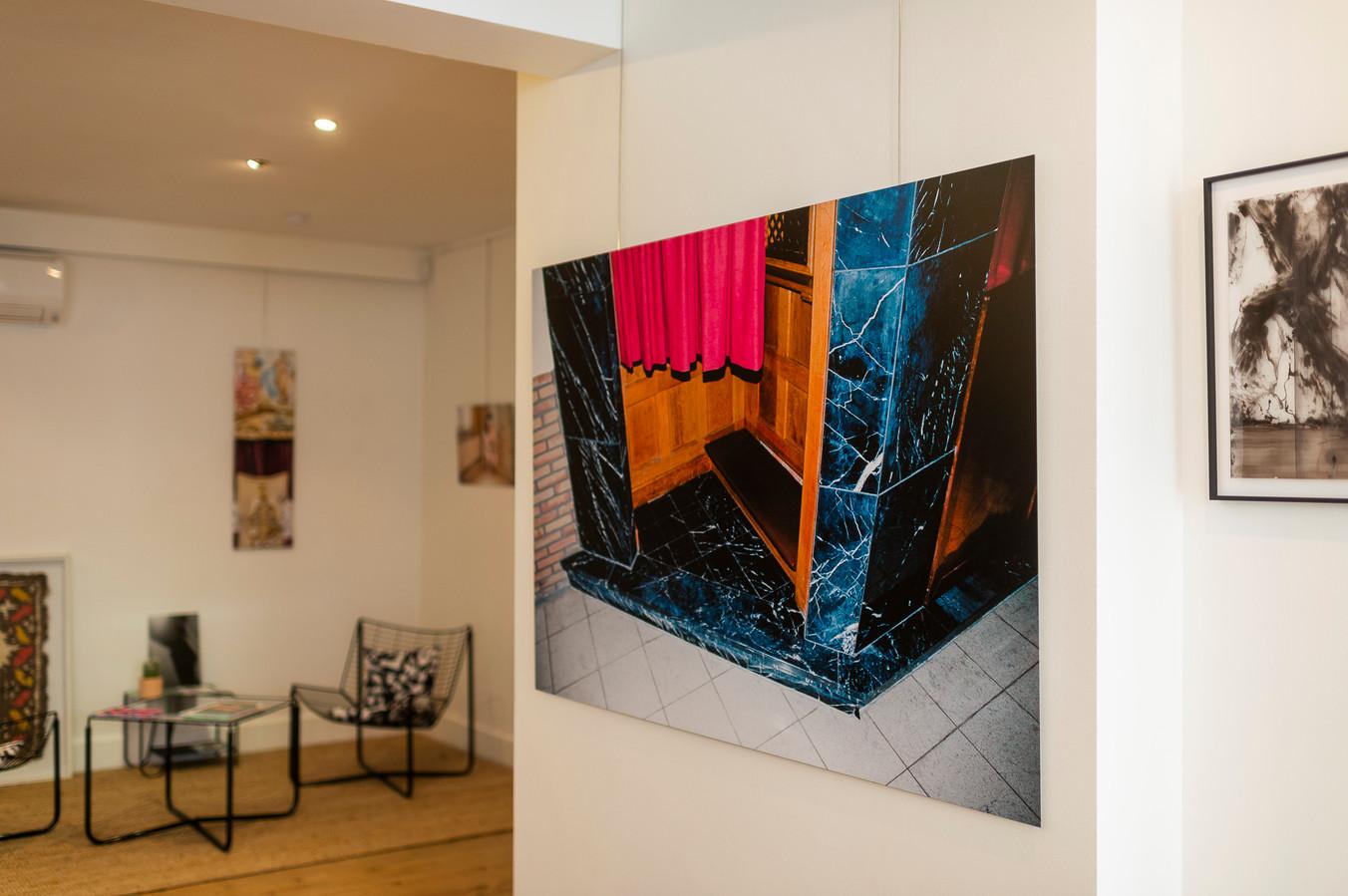 Kunst in Huis in de Montignystraat.