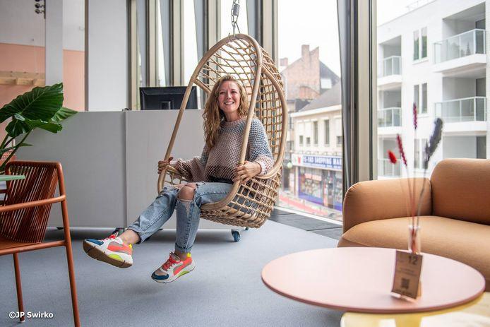 Astrid Bauters is uitbaatster van De Foyer.