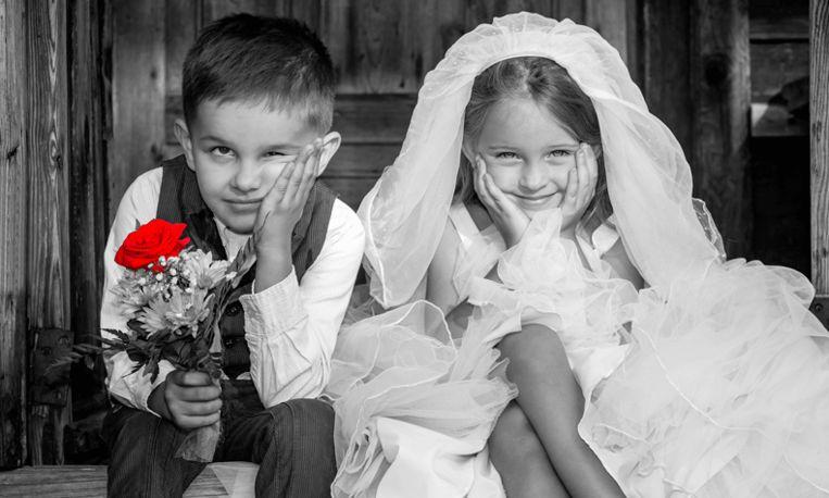 Wat romantisch: bruidskinderen trouwen 22 jaar later met elkaar