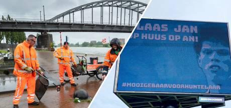 Nieuws Gemist? Arnhemse poepruimers willen meer geld, Huntelaar en Schöne hebben sjans
