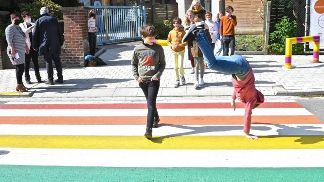 Kleine ingrepen maken Merksemse schoolomgevingen verkeersveiliger
