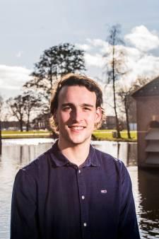 Timon (23) uit Diepenveen is de Mark Rutte onder de studenten: jonge 'premier' wil nuchtere Sallandse politiek