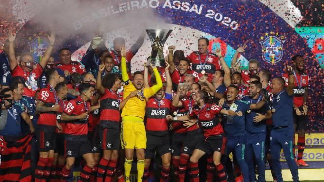 Knotsgekke ontknoping in Braziliaanse titelstrijd: Flamengo kampioen na nederlaag en Internacional woedend na afgekeurde goals