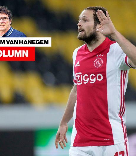 Van Hanegem over Ajax: 'Ze moeten per direct stoppen met praten over het gemis van Blind'