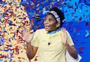 De 14-jarige Zaila Avant-garde is de eerste Afro-Amerikaanse winnaar van de Scripps National Spelling Bee in de Verenigde Staten.