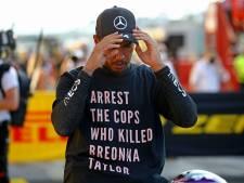 Rijdt Lewis Hamilton nog steeds met een glimlach de garage uit?