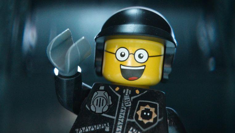 Het figuur Bad Cop/Good Cop, ingesproken door Liam Neeson. Beeld AP