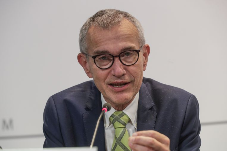 Minister van Gezondheid Frank Vandenbroucke (Vooruit). Beeld EPA