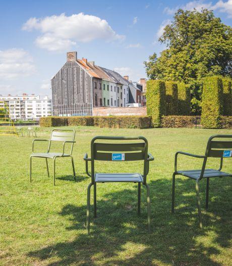 Na Zuidpark en Coyendanspark krijgen ook deze zes Gentse parken groene parkstoelen