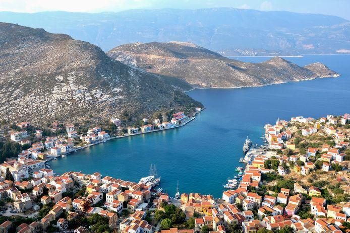 De kans dat u van het Griekse eiland Kastellorizo gehoord heeft, is niet groot. En dat u er geweest bent, is nog onwaarschijnlijker.