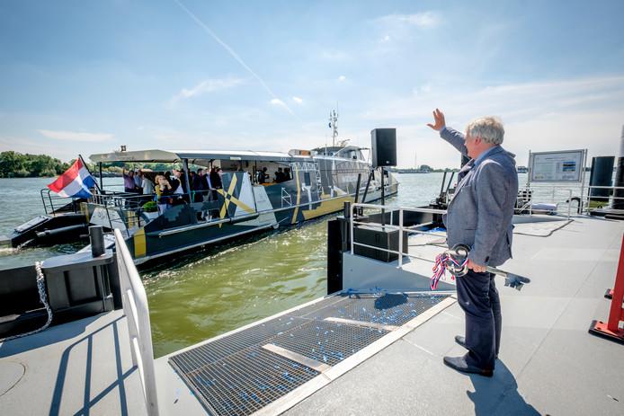 Schiedam heeft wél een eigen halte voor de Waterbus.