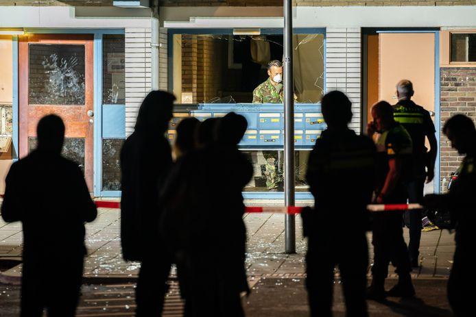 Een explosie vannacht in een portiek van een flatgebouw in het Utrechtse Kanaleneiland.