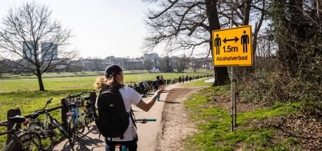 Biertje in Park Sonsbeek in Arnhem mag weer