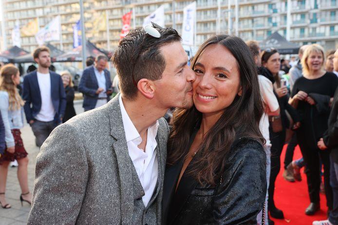 Matteo Simoni en zijn patner Loredana.