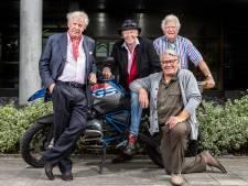 Willibrord, Peter, Barrie en Gerard: nooit te oud om te reizen
