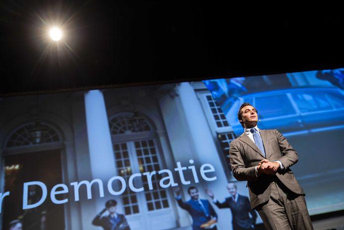 Thierry Baudet, partijleider van Forum voor Democratie.