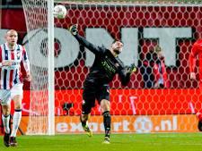 Het is wachten op de eerste slingerworp-assist van Willem II-keeper Aro Muric