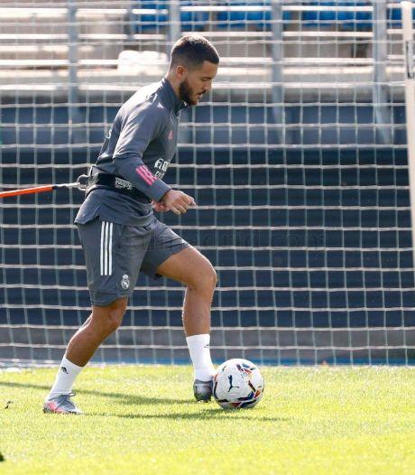 Eden Hazard poursuit sa revalidation et s'entraîne avec le Real Madrid