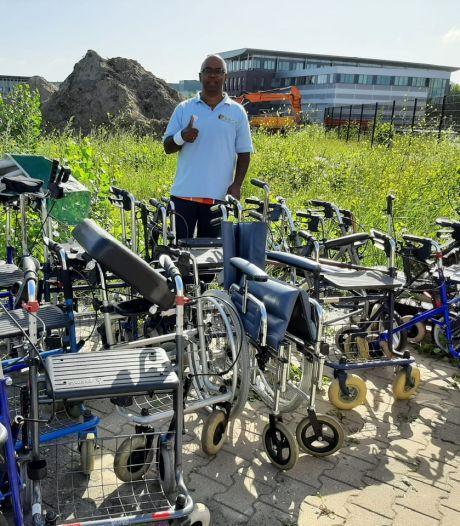 Zoetermeerse rollators naar ouderen in Suriname: 'Regering geeft er geen prioriteit aan'