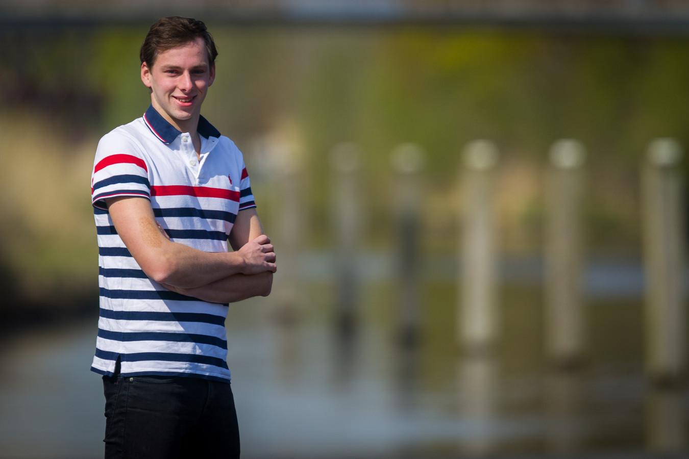 Pepijn Smits uit Oirschot is gestopt met openwaterzwemmen.