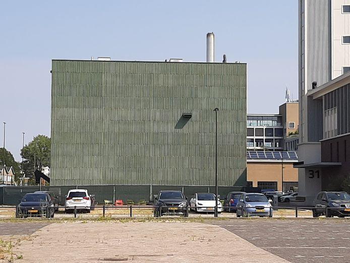 De biomassacentrale van Ennatuurlijk op Strijp-T in Eindhoven.