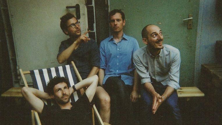De Amsterdamse band Naive Set Beeld Mirte Slaats