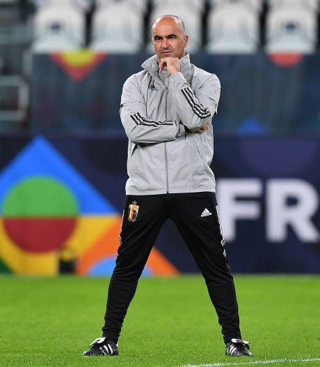 """Roberto Martinez affiche sa confiance: """"Plus forts qu'il y a trois ans"""""""