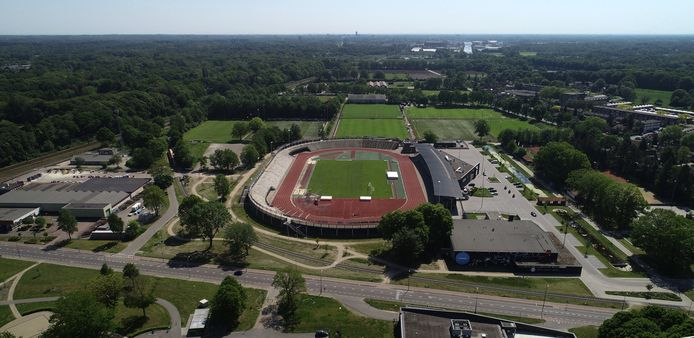 Het FBK Stadion in Hengelo.
