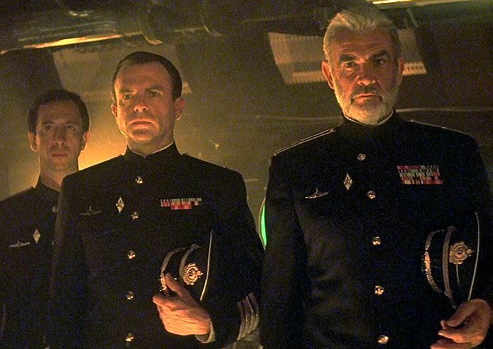 Sean Connery in The Hunt for Red October.