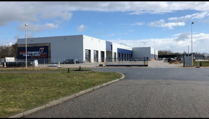 De nieuwbouw van Müller European Truck & Trailer Care in Holten is na een testfase deze week officieel operationeel.