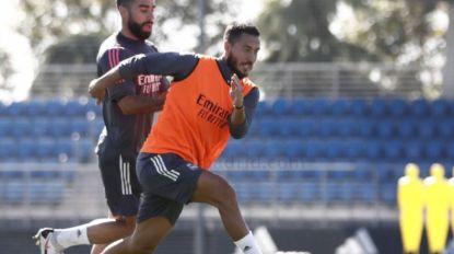 Zie wie we daar hebben: Eden Hazard in selectie Real Madrid. Morgenavond ook zijn rentree?