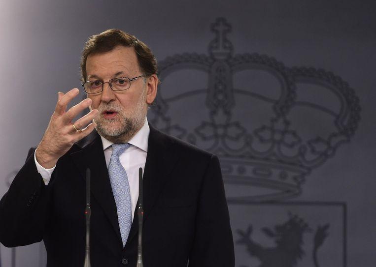 Mariano Rajoy. Beeld anp