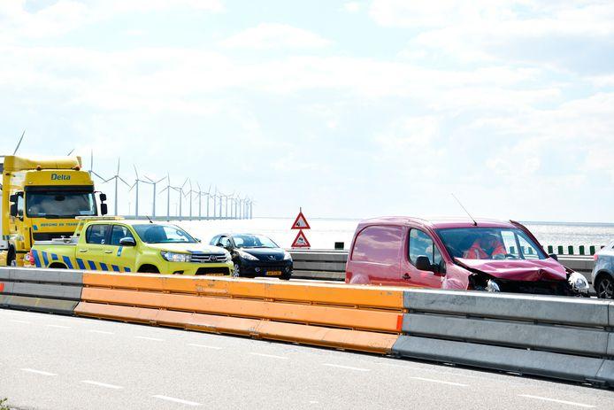 Archieffoto. De Ketelbrug bij Swifterbant, die op de weg ligt waar de werkzaamheden dit weekend plaatsvinden.