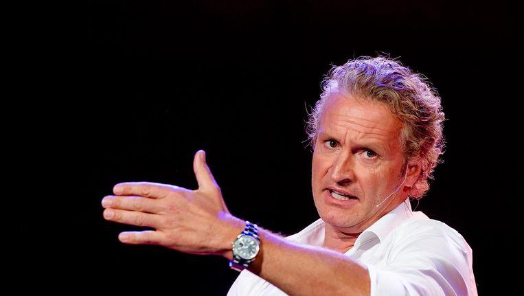 RTL-baas Erland Galjaard (foto) ging door het stof om misstanden rond het fenomeen hulp-tv. Bij de NPO blijven excuses voorlopig uit. Beeld anp