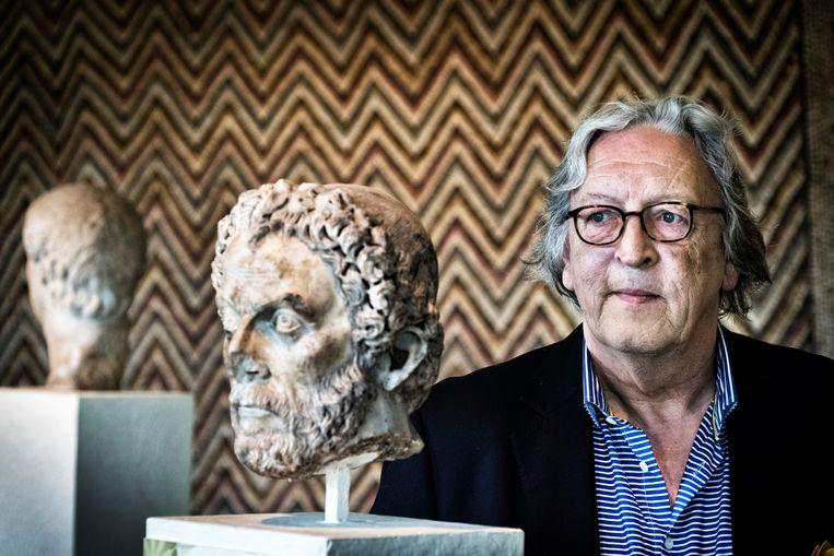 Eric Gubel, hoofdconservator van het Departement Oudheid van de Koninklijke Musea van Kunst & Geschiedenis. Beeld Tim Dirven