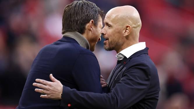 Ten Hag prijst Haller na revanche van Ajax op PSV: 'Hij heeft ongehoord veel kritiek gehad'