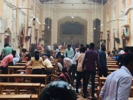 Honderden doden en gewonden bij explosies in kerken en hotels Sri Lanka