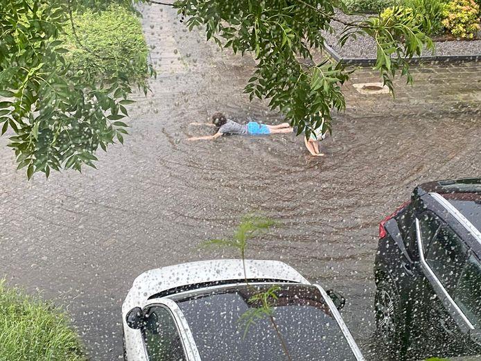 In Geldrop wordt zelfs 'gezwommen'.