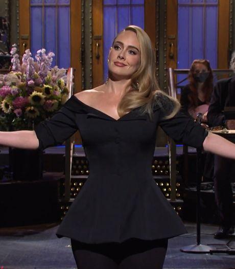 Adele plaisante sur sa perte de poids