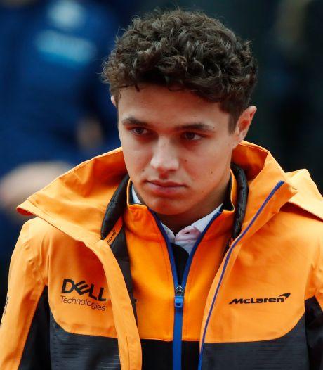 Lando Norris kampte met depressie in beginperiode Formule 1: 'Dat vergrootte de pijn'