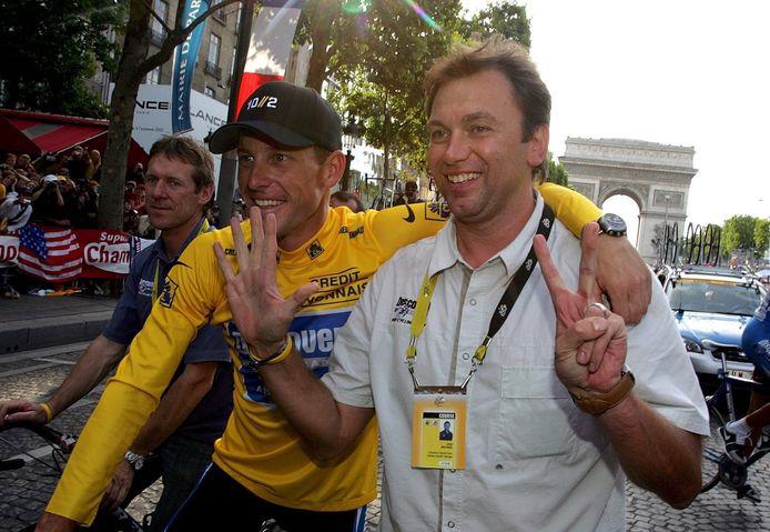 Johan Bruyneel et Lance Armstrong