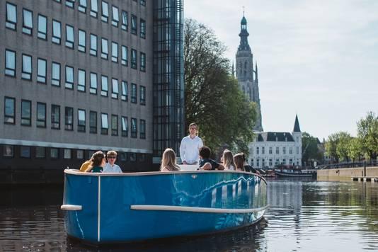 Rondje Varen Breda vaart vanaf Hemelvaartsdag door de Bredase singels.